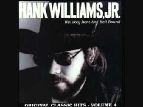 Hank Williams Jr - Outlaw Women Music Videos