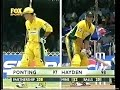 Matthew Hayden 101 Ricky Ponting 111 vs India 2001