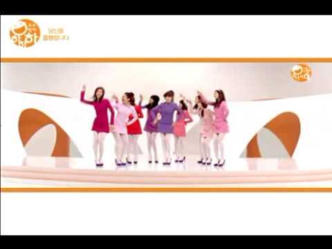 [mv] Snsd - Ha Ha Ha Song Full Ver. video