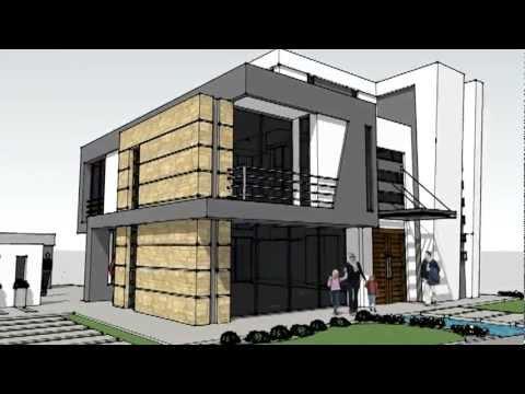 Vivienda minimalista novo arquitectura youtube for Vivienda minimalista planos