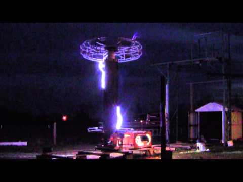 Eldredge Tesla Coil Demonstration 2