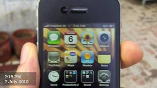 iPhone 4 Network Test Antenna problem