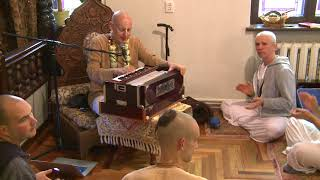 """Sunday Program Kirtan"" HG SDA ISKCON Kaunas Lithuania"