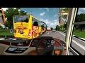 ETS2 : Bus ALS Ngeblong Menuju Stabat