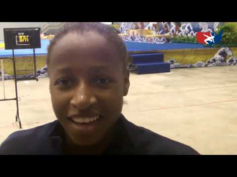Junior World Bronze Medalist Erin Golston