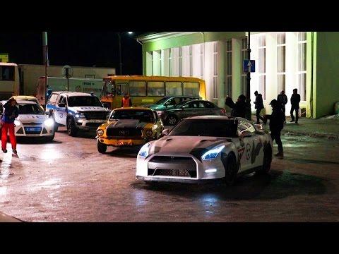 В Мурманске продолжают снимать Børning II.  Scandinavian Fast Furious 2