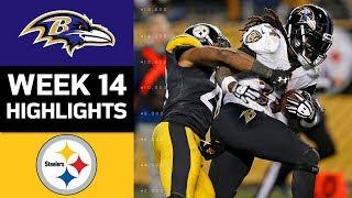 Ravens vs. Steelers  NFL Week 14 Game Highlights