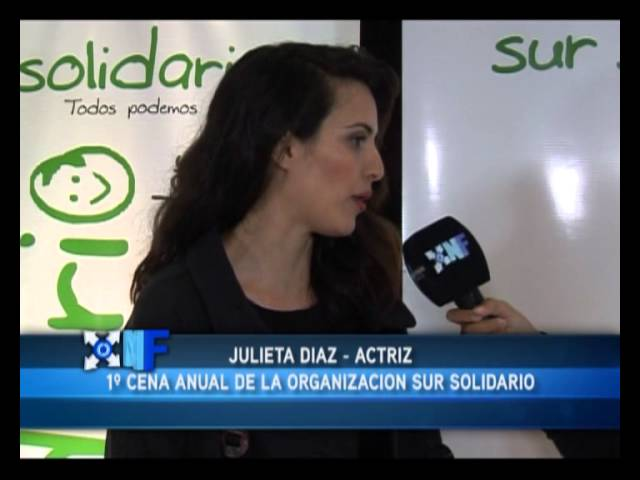Cena benefica Sur Solidario - Noticiero federal