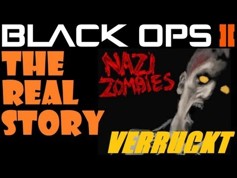 Black Ops 2 - The Nazi Zombies Story Leadup: Zombie Verruckt