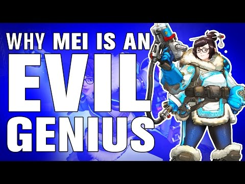 The SCIENCE! - Why Mei is an EVIL GENIUS in Overwatch