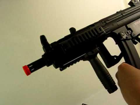 HitGuns.com - Airsoft Gun Review - CYMA MP5 CM049 w/ Blowback Pt.2 of 2
