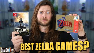 The 5 BEST Zelda Games Ever