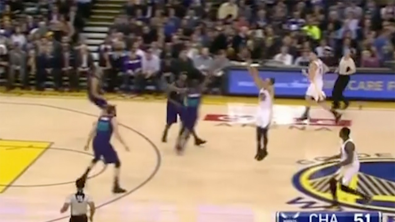 Steph Curry is BACK to Being Steph Curry with RIDICULOUS Near Half-Court Shot