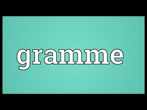 Header of gramme
