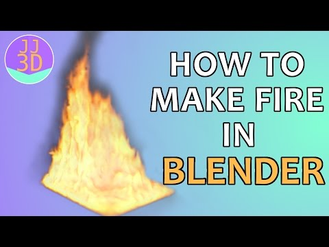 How To Make Fire in Blender 2.65+