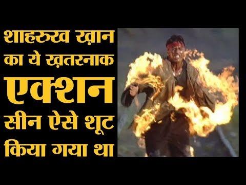 Shah Rukh Khan की इस फिल्म की शूटिंग में मौत हो सकती थी । Bollywood Kisse । Koyla Movie । Action thumbnail