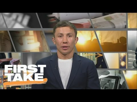 Gennady Golovkin Would Drop Weight To Fight Floyd Mayweather | First Take | February 28, 2017