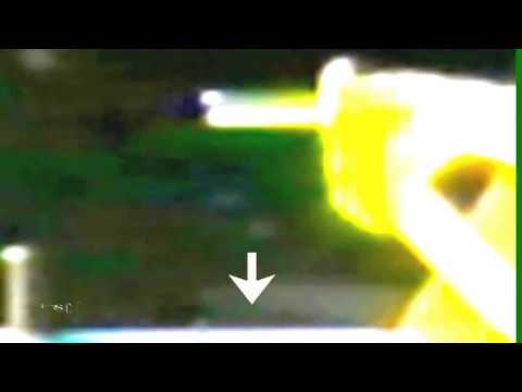 Amazing Alien Creature Glides Past International Space Station 2013