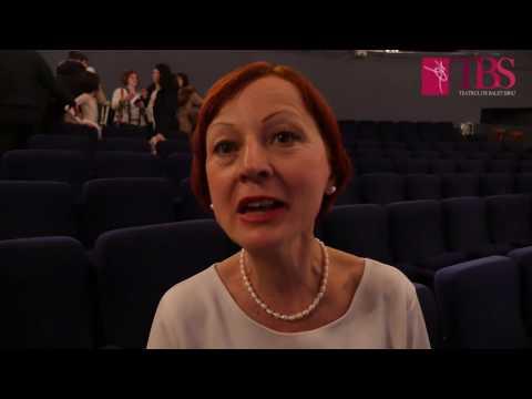 """TBS @ Teatrul Dramatic """"Elvira Godeanu"""" Târgu Jiu :: """"Balerinii de la Sibiu și soprana Felicia Filip, spectacol magnific la Târgu-Jiu! În ropote de aplauze, publicul s-a ridicat în picioare."""", titreaza publicatia online cult-ura.ro.  Scena Teatrului Dramatic """"Elvira Godeanu""""  din Târgu-Jiu a devenit duminică, 19 februarie, un tărâm de vis unde a fost susținut spectacolul """"Brâncuși – Zbor și Dor""""."""