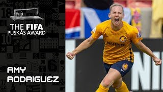 FIFA PUSKAS AWARD 2019 NOMINEE: Amy Rodriguez