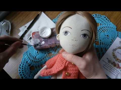 Куклы своими руками нарисовать лицо 645