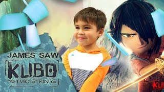"James Saw ""Kubo and the Two Strings"" 
