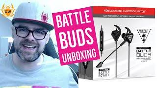Turtle Beach Battle Buds Unboxing! Best Gaming In Ear Gaming Headset for Mobile, Switch, Xbox & PS4!