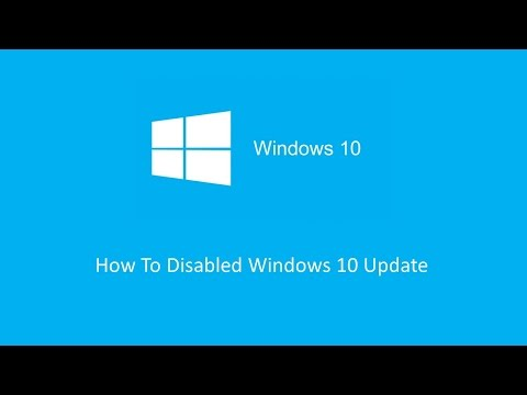 How To Disabled Windows 10 Auto Update in 90 Seconds | Windows 10 | Short Tutorial