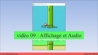 video09 - FlappyBird - Affichage et Audio
