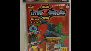 Unboxing Revista Invizimals Nº 37 CromoCole