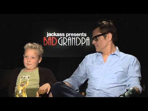 Jack Presents Bad Grandpa Johnny Knoxville Jackson Niccol Interview