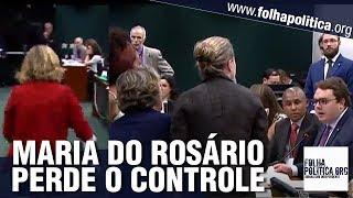 Maria do Rosário tem 'ataque', parte para cima e tem hipocrisia desmascarada - Previdência
