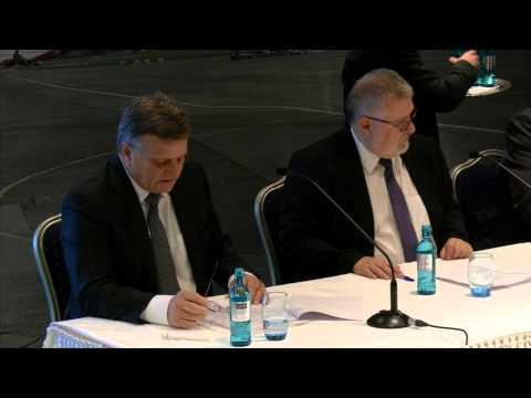 Teil 1/2: Ungekürzte Pressekonferenz zur FBB Aufsichtsratssitzung des BER in Motzen 12.12.2014