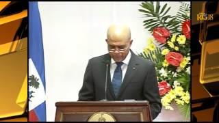 President Michel Martelly - Vendredi 16 Janvier 2015 - Message