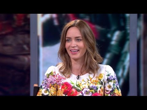 Emily Blunt Interview 2014: Actress on Working With Tom Cruise