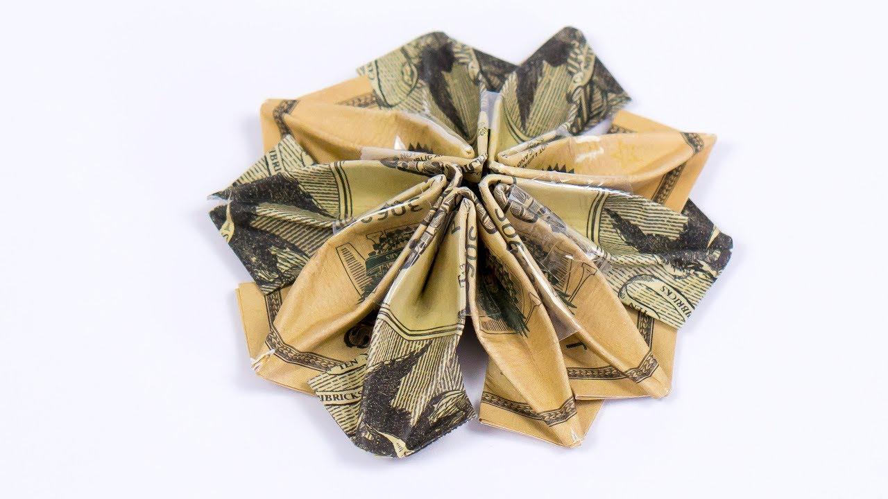 Money Gift Idea Butterfly Dollar Bill Origami Youtube Oukasfo