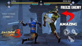 Shadow Fight 3 Hack New Freeze The Enemy