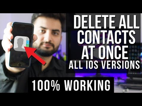 How To Delete All Contacts from iPhone 7. 6s. 6. 5 & 5s