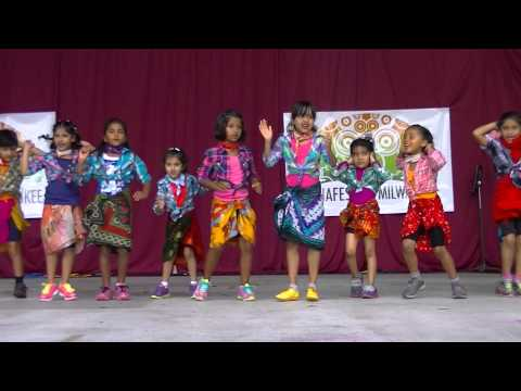 Kids Lungi Dance Performance At India Fest Milwaukee video