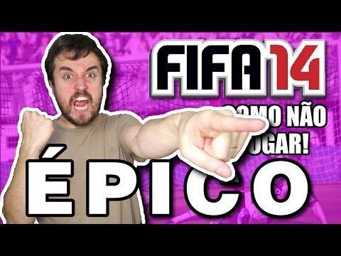 O JOGO MAIS ÉPICO! - Como não jogar FIFA 14 PS4 (Parte 05).