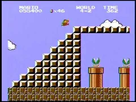 Super Mario Bros. Speed Run - 4:58.89