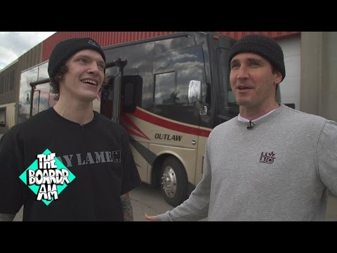 Tim O'Connor Chats with Dustin Blauvelt after Winning The Boardr Am Detroit