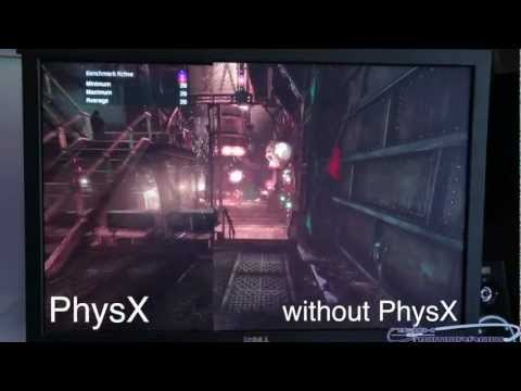 Batman: Arkham City 2560x1600 NVIDIA GTX 660Ti PhysX Benchmark Comparison