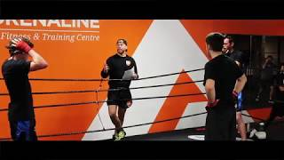 Adrenaline MMA Striking Test, Nov 17th 2018