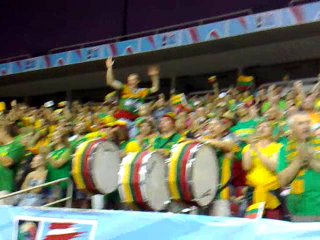 Lithuanian Fans in Riga FIBAU19
