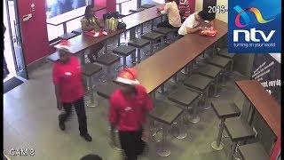 Wezi wa migahawani wanaswa kwenye kamera za CCTV
