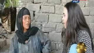 """الحاجة نادية .. أم معيلة لـ11 طفلا تناشد الحكومة: """"ارحمونى .. نفسي اعيش """""""