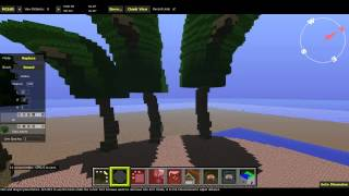 Minecraft Mapping with Vechs 01 Shield Palm