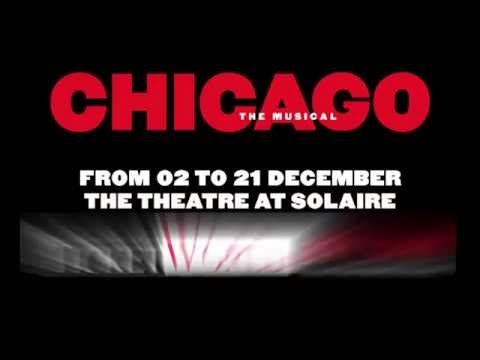 Chicago is coming to The Theatre at Solaire Resort and Casino, Manila! (December 2- 21, 2014)