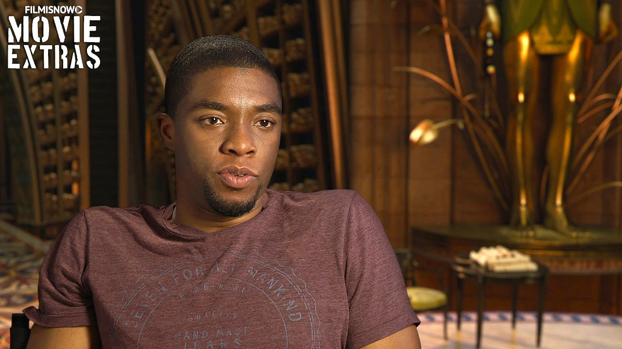 Gods of Egypt (2016) Behind the Scenes Movie Interview - Chadwick Boseman is 'Thoth'